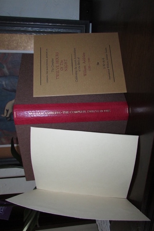Image for WILLIAM ASHBLESS/JAMES BLAYLOCK/TIM POWERS: THE COMPLETE TWELVE HOURS OF THE NIGHT—SIGNED BY THREE! IN CUSTOM CLAMSHELL TRAYCASE.