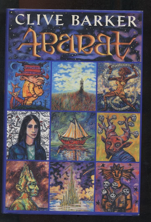 Image for CLIVE BARKER—ABARAT. Joanna Cotler, Books. 2002. 1st trade edition. Signed and inscribed with an original drawing, to a fellow artist.