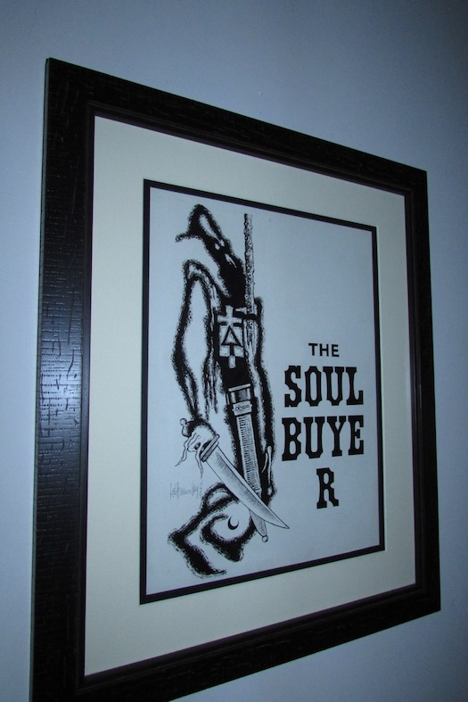 Image for THE SOUL BUYER—ORIGINAL ART SIGNED