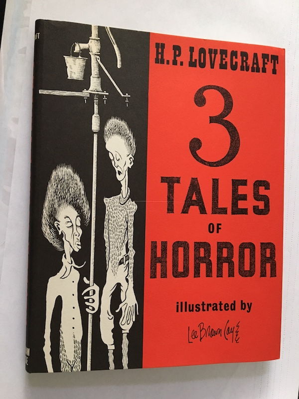 Image for H.P. LOVECRAFT: 3 TALES OF HORROR. Arkham House, 1967. [First edition], [1522 copies printed]. Illustrated by Lee Brown Coye.