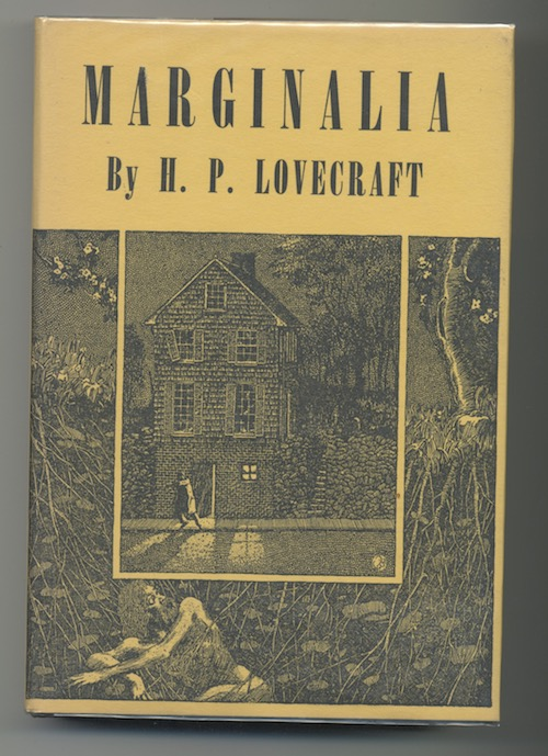 Image for H.P. LOVECRAFT: MARGINALIA—AN EXCEPTIONAL COPY!