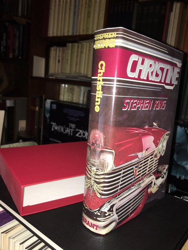Image for STEPHEN KING—CHRISTINE. 1983. SIGNED, Slipcased, limited to 1000 copies!
