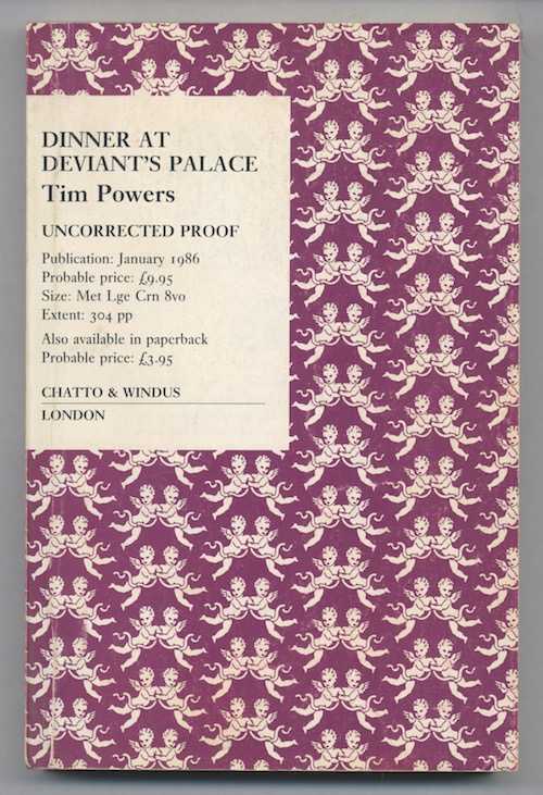 Image for DINNER AT DEVIANT'S PALACE—SIGNED