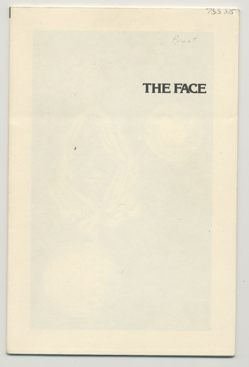 Image for THE FACE—RARE PROOF COPY!