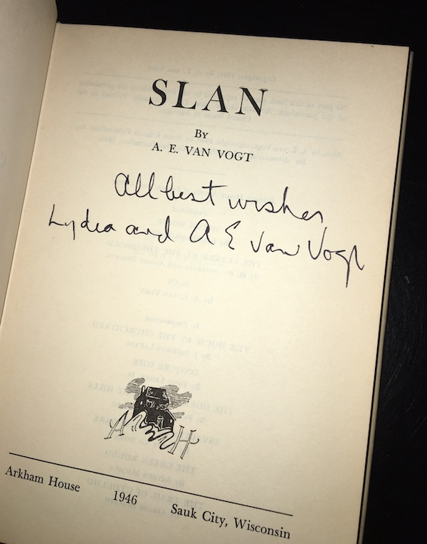 Image for SLAN—SIGNED!